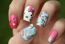 Nail art / Inspiration for good looking and sweet colorful nails