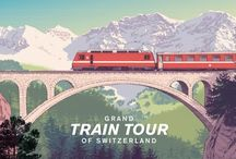 Grand Train Tour of Switzerland / Just imagine sitting on an panorama train high up in the alps, watching the scenery passing by while enjoying a nice meal... http://bitly.com/GrandTrainTourOfSwitzerland_STS / by Switzerland | Schweiz | Suisse | Svizzera | Svizra