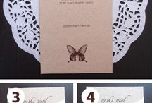 Wedding invitation / Wedding...simply..
