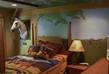 Horse-themed room