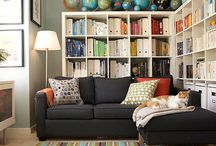 Dreamin' of a Stylish Living Room/Den / If I had 3,000 houses, none of them would look the same.