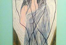 My home paintings / Angel