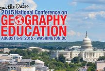 NCGE's 100th Annual Conference on Geography Education / NCGE will be hosting its 100th annual conference this upcoming August 2015, in Washington D.C.
