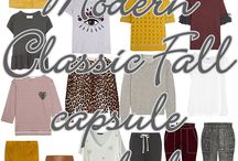 Modern Classic Fall Capsule 2016 / ...make yourself a bunch of gorgeous garments from just a few of our favorite sewing patterns...