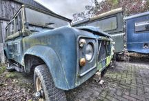 Project 'van Dijk' 1983 Land Rover 110 County Stationwagon / Restoration of a 1983 Land Rover 110. 300TDI conversion. Everything galvanised : chassis, T-posts, bulkhead, body crossmembers, battery tray, toolbox, door frames, etc. No rust ever again! TD4 puma rear seats, new upholstered front seats. Resprayed inside and outside in 'Limestone'