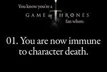 You know you're a GoT fan when...