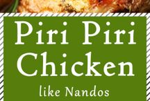 Chicken Recipies / Hühnchenrezepte