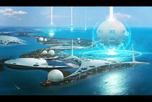 Setting - Sci-Fi Water City