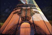 TIPI LIFE / Tipis have played a big role in my relationship to Mother Earth. This board celebrates that connection.