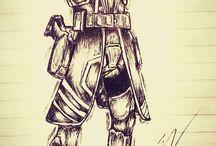 Titi drawings
