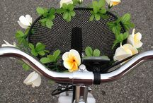 Bicycle flower concept