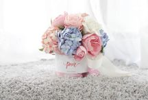 Pink Flower Gift