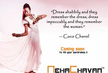 NC by NehaChavan / Exclusively designed outfits specially for you ! Own a wardrobe that others envy !