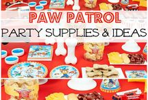 Paw Patrol Birthday Idea's / Lots of fabulous idea's for a Paw Patrol Party