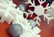 Styropian i styrodur - dekoracje świąteczne