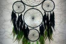 Dreamcatcher black and green color :)