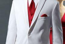 Piros-Fehér-Fekete a klasszikus színek. / Vörös és fekete + fehér színek..