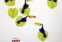 Rio de Janeiro ornaments / Nová speciální kolekce inspirovaná Brazílií
