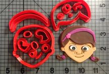 Cartoon Character Items / Vist jbcookiecutters.com to view all of our Cartoon Character themed items. Our items include cookie cutters, stencils, stamps, silicone molds, rolling pins, plungers and many more!