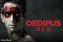 #sfOedipus / The great archetype of ancient Greek tragedy is also western drama's first – and most compelling – murder mystery. King Oedipus vows to bring a killer to justice, only to uncover a truth more terrible than he imagined.  Gord Rand as Oedipus Yanna McIntosh as Jocasta