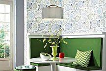 Дизайн интерьера кухни, столовой