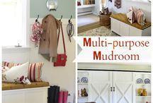 Mudroom Ideas / Design and storage / by Kathy Thompson