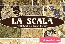 "La Scala 4 by Robert Kaufman / ""La Scala 4"" - collection of Robert Kaufman Fabric"