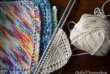 knitting - squares