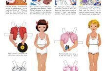 Paperdolls / by Mary Lee Thomas