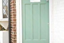 Front Door & Porch
