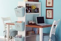 Desk from. Shelf