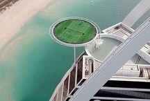 Der höchste Tennisplatz in Dubai. Sehr aufregend !!!