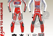Andrea lannone Ducati motogp leather suit