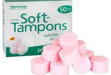 Tampones y copas menstruales