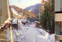 A05. Peisaj/Pictura/Atelier