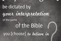 Religion / Religious Comments