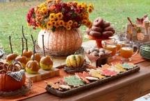 Fall celebration dinner