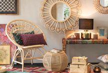 BOHEMIAN HOME / #déco #bohème # #decor #bohemian #style #couleurs #gipsy