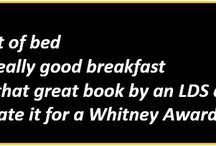 2017 Whitney Awards / All about the 2017 Whitney Awards, both leading up to and including the Gala!