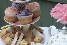 Vintage Tea Party Food / This is a selection of the food that we serve at our vintage tea parties