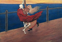 Hugo Simberg / Hugo Simberg (24 June 1873 - 12 July 1917) was a Finnish symbolist painter and graphic artist.