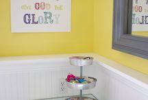 Kids bathroom / by Corie Self