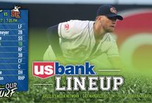 2017 US Bank Starting Lineups