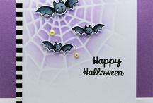 Halloween card and treat bags