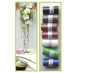 Bolsa Flora Deco ROLLS / On demand of several florists who loved working with Bolsa Flora Bases for handbags and especially the material, we now launched since March 2015 the ROLLS of Bolsa Flora (for light weight structures or deco). These high quality foam rolls exists in different colors. All of our products are applicable with any design technique available to the florist imagination: hot & cold glue, stapling, strapping, perforation, cutting with scissor or knife etc etc