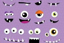 caras de mostros