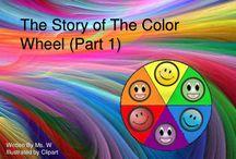 color mixture/ color wheel