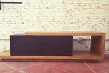 design italiano mobile porta Tv in legno massello / mobili zona giorno porta tv in legno massello www.xlab.design