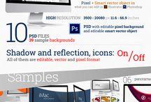 Envato iMac Mocup template