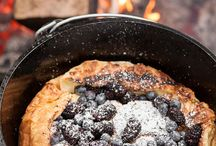 Cast Iron Cookin / Meals made in one pot from stove top to oven